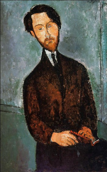 "Amedeo Modigliani ""..."" (1916). Son dernier et principal marchand."