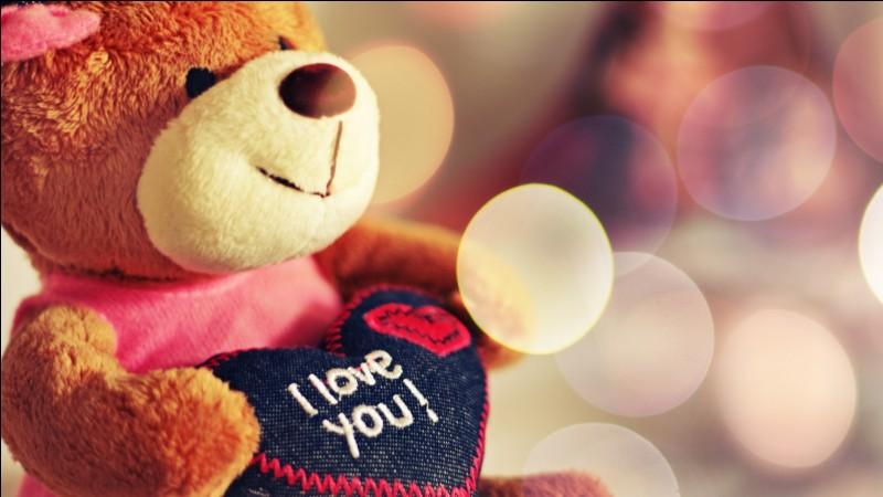 I love you. Avez-vous reconnu cette langue ?
