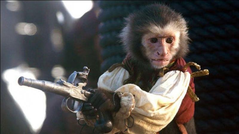 Que donne le singe à Jack à la fin du film ?