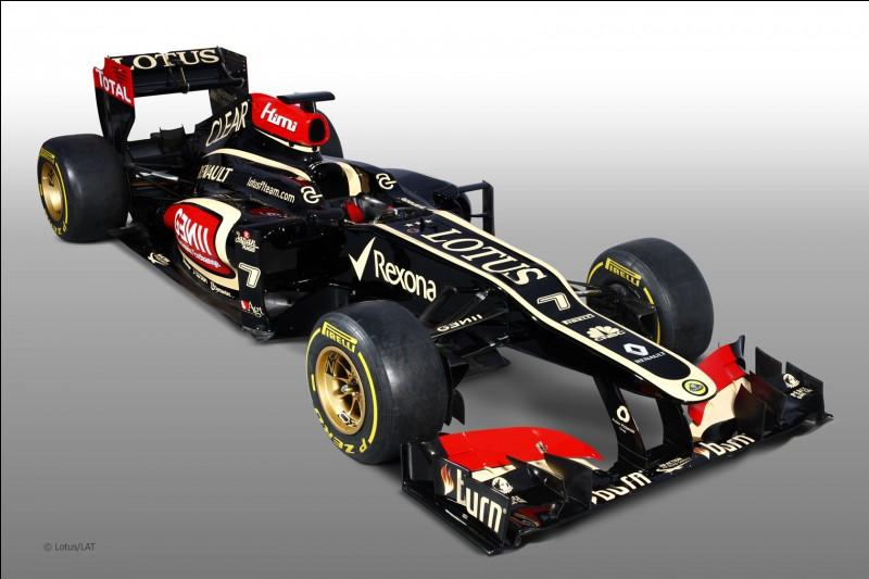 De quelle écurie cette Formule 1 est-elle ?