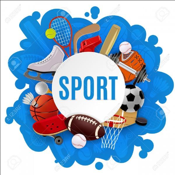 Quel sport est ton préféré ?