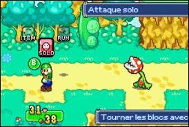 Quel est ce (mini) boss que Luigi doit affronter seul ?