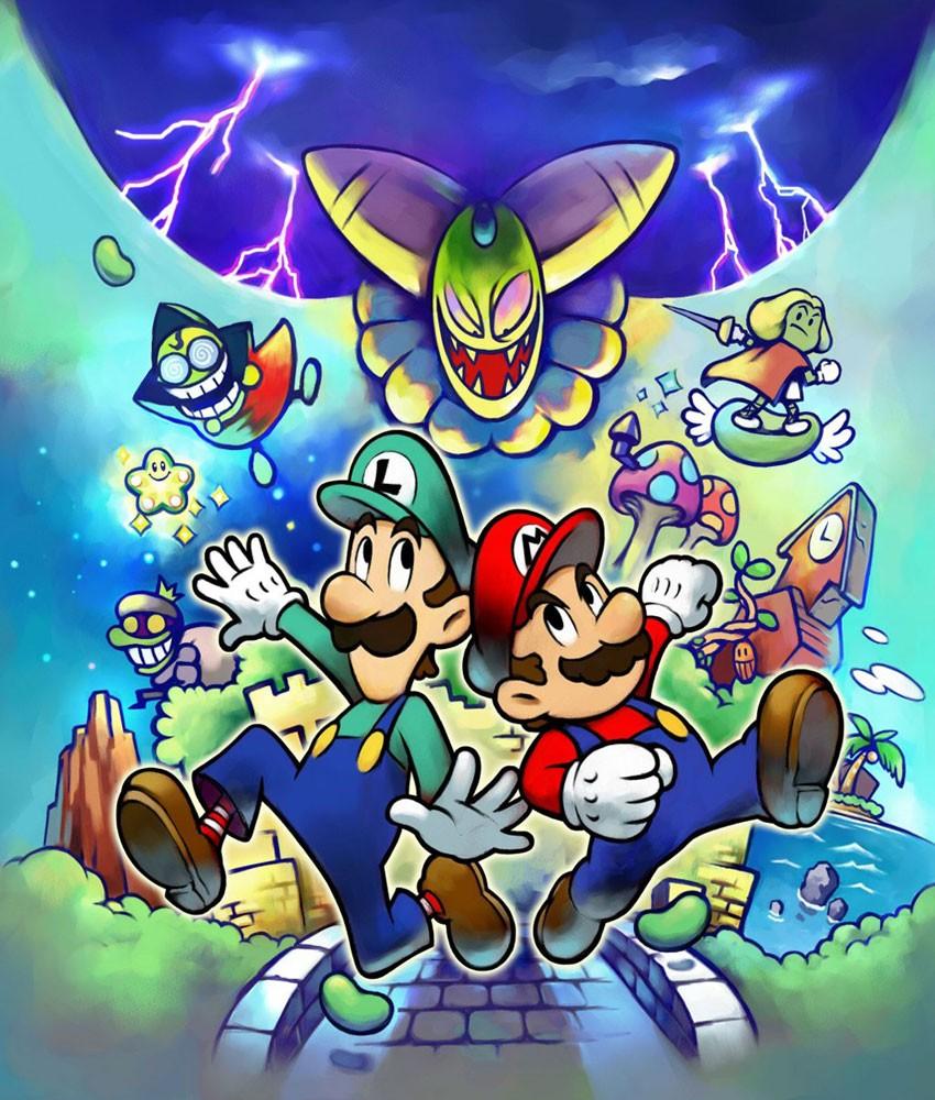 Noms des Boss de Mario et Luigi - SuperStar Saga