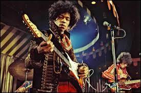 La mort d'un artiste de légende : Jimi Hendrix.