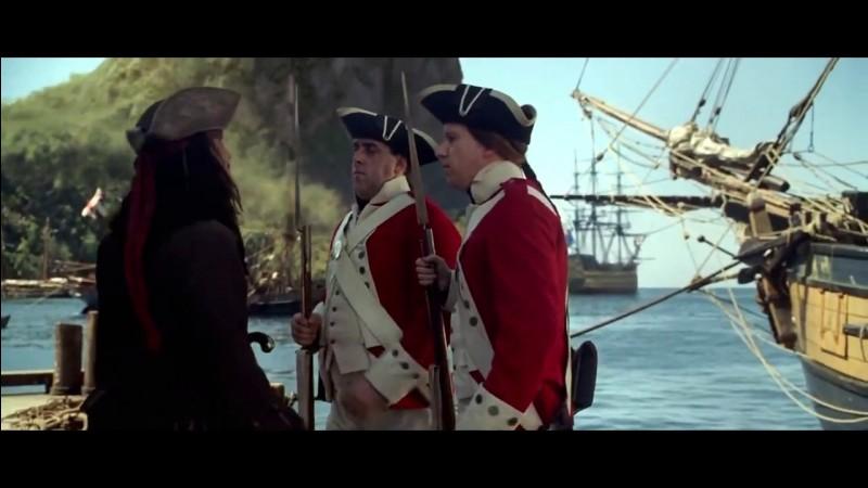 Jack s'empare d'un navire avec Will pour quitter Port Royal ; comment s'appelle-t-il ?