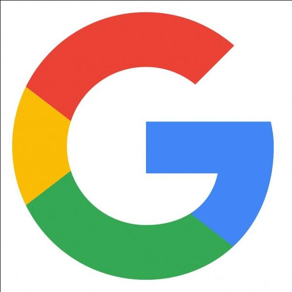 """Le premier """"o"""" de Google est de couleur jaune."""
