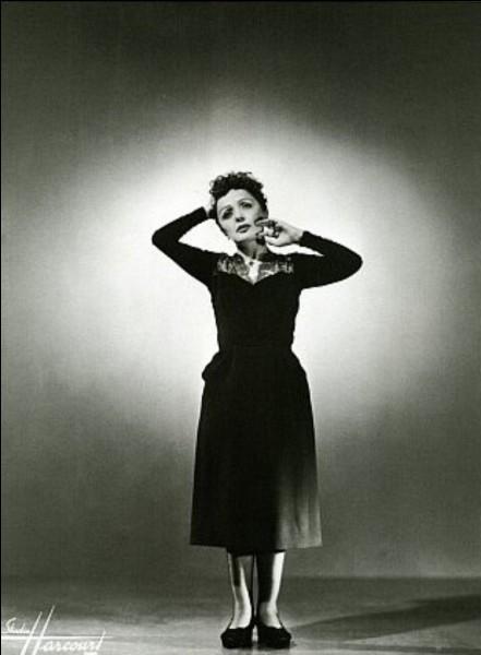Édith Piaf n'a pas connu les années 70.