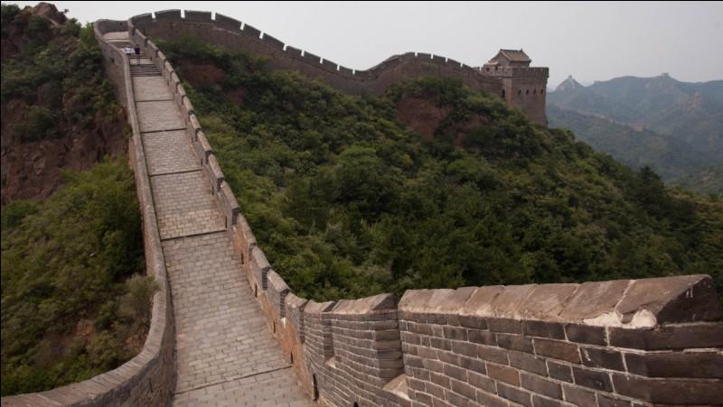 La Grande Muraille de Chine a déjà été détruite.