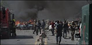 Un attentat a eu lieu aujourd'hui (31 mai) à Kaboul, une bombe d'une tonne et demie était cachée dans un camion-citerne.