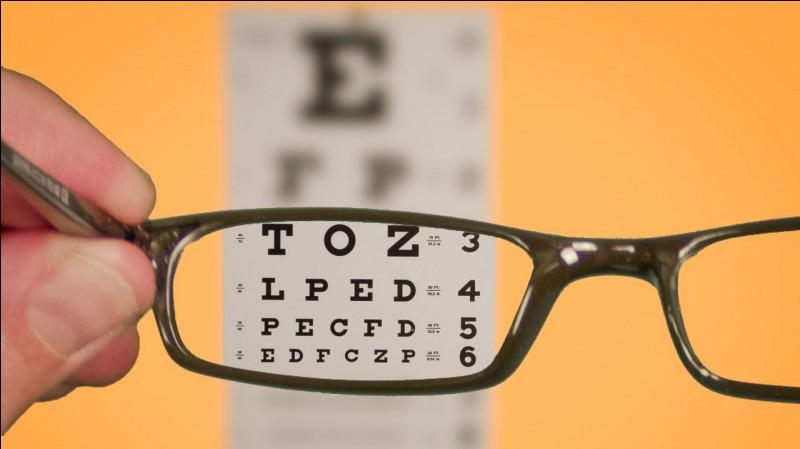 Est-ce que vous portez des lunettes de vue ?