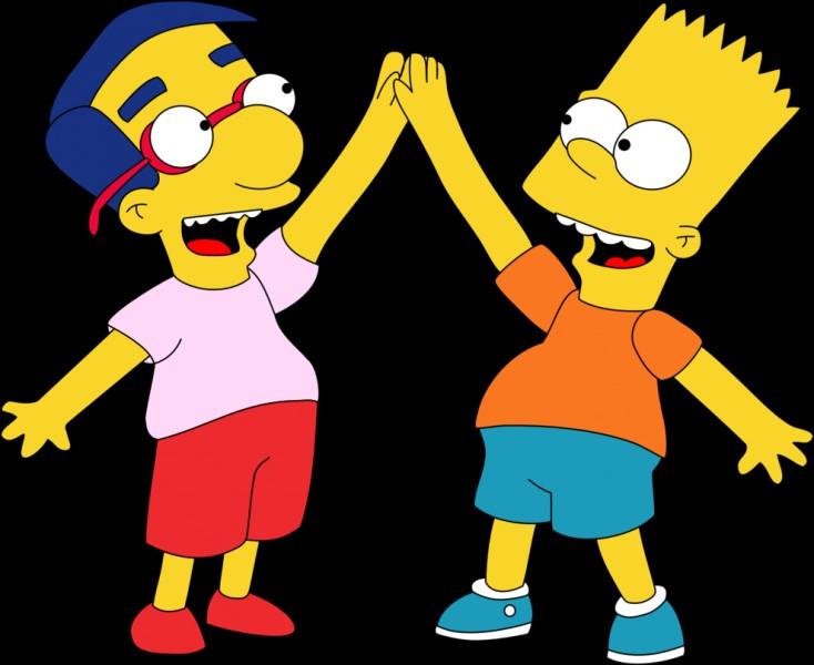 Bart a un meilleur ami, comment s'appelle-t-il ?