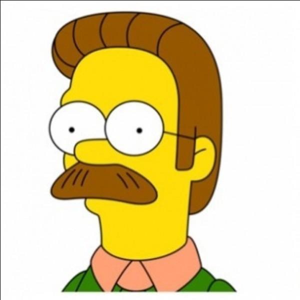 Comment s'appelle le voisin des Simpson ?