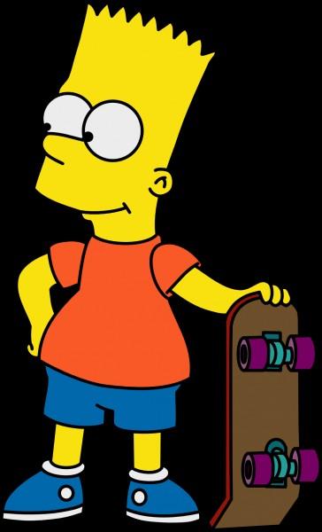 Bart s'habille souvent en :