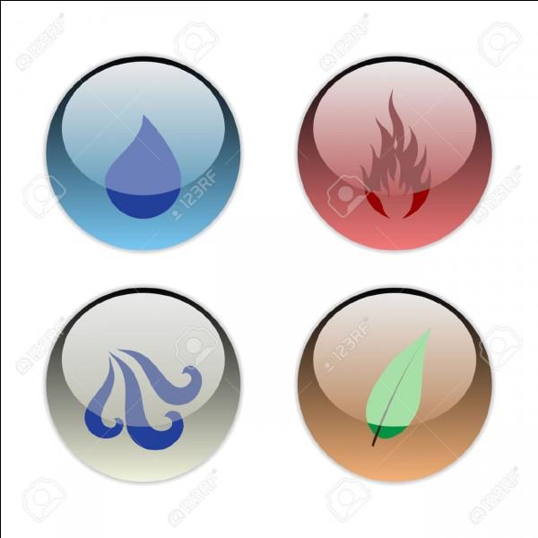 Parmi ces quatre éléments, lequel préfères-tu ?