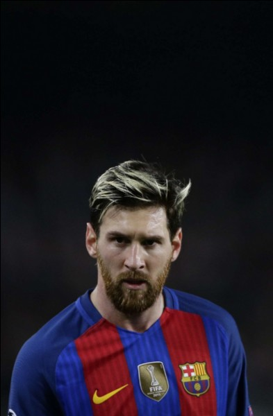 Quel âge a Messi ?