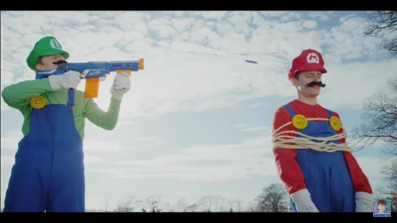 "La vidéo ""Luigi clash Mario"" a plus de 60 millions de vues."