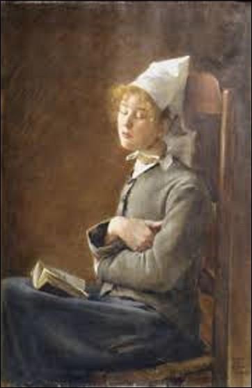 Continuons avec une autre femme artiste peintre. Actuellement conservée au musée des beaux-arts de Carcassonne, ''La Liseuse endormie'' est une huile sur toile réalisée en 1882. Qui l'a peinte ?