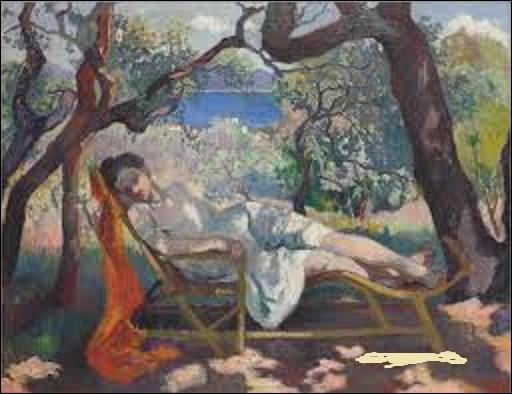 Considéré comme l'un des principaux créateurs du fauvisme français en 1905, quel artiste a réalisé, cette même année, ce tableau intitulé ''La Sieste'', que l'on peut admirer à la ''Villa Flora'' dans la ville suisse de Wintherhour ?