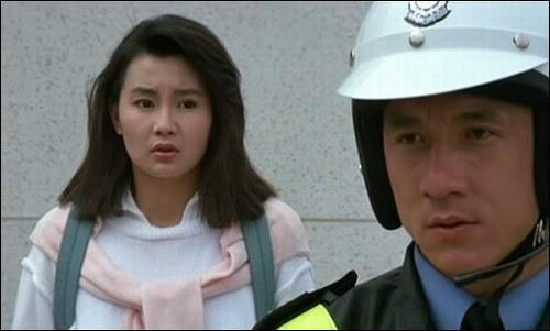 De quel film est tirée cette photo avec Maggie Cheung ?