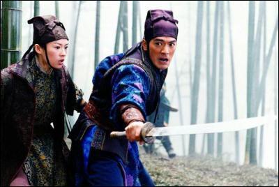 De quel film est tirée cette photo avec Zang Ziyi ?