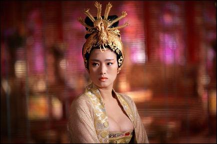 De quel film est tirée cette photo avec Gong Li ?