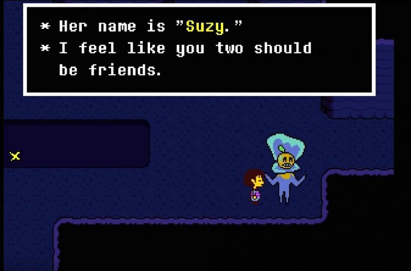 Qui est Suzy, personnage nommé par un monstre selon une certaine valeur de fun ? (Plusieurs réponses possibles)
