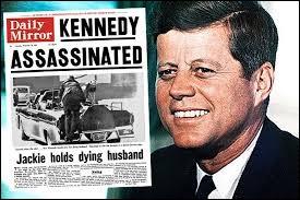 En quelle année John Fitzgerald Kennedy a-t-il été assassiné ?