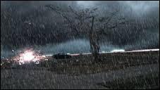 Quant il pleut vraiment fort, on dit qu'il tombe ...