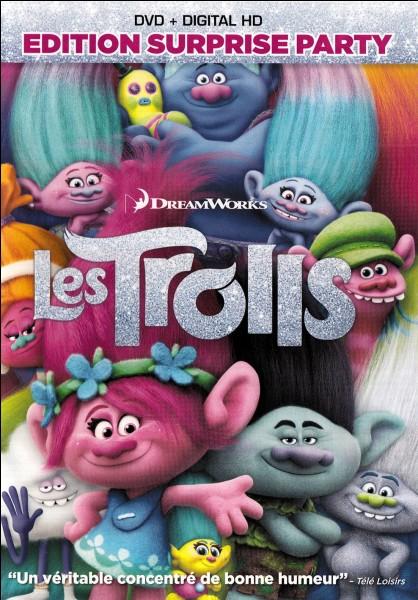 Quel est le prix du dvd les Trolls ?