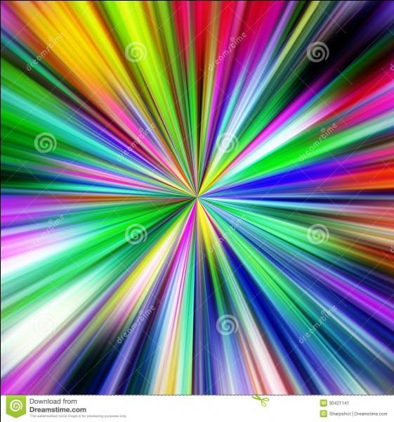 """Comment dit-on """"multicolore"""" en anglais ?"""