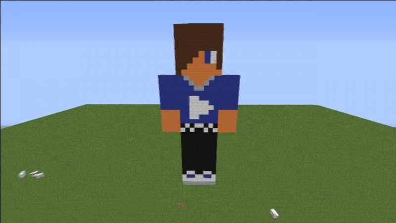 """Qui est ce YouTubeur, d'après ce skin """"Minecraft"""" ?"""