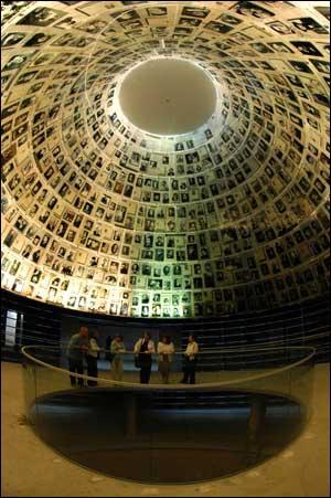 Quel pays a eu le plus de victimes pendant le conflit (photo : Yad Vashem, mémorial des victimes de la Shoah à Jérusalem) ?