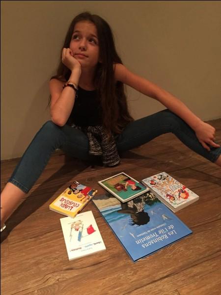 Quelle profession Erza veut-elle exercer quand elle sera adulte ?