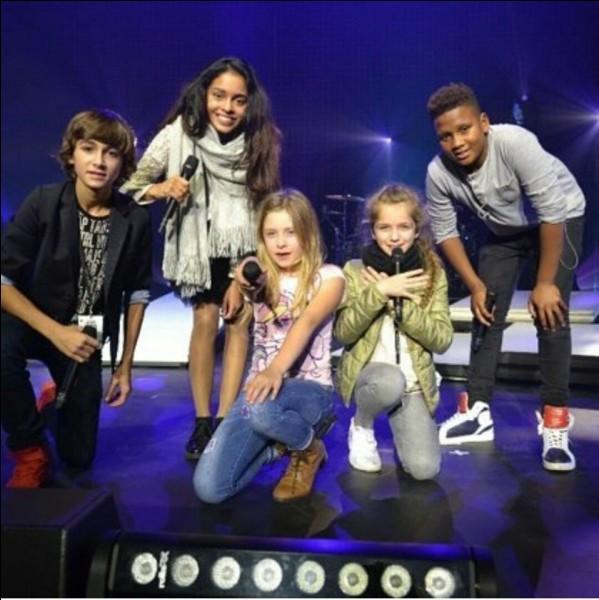 """Qui parmi les cinq a gagné l'émission """"The Voice Kids"""" ?"""