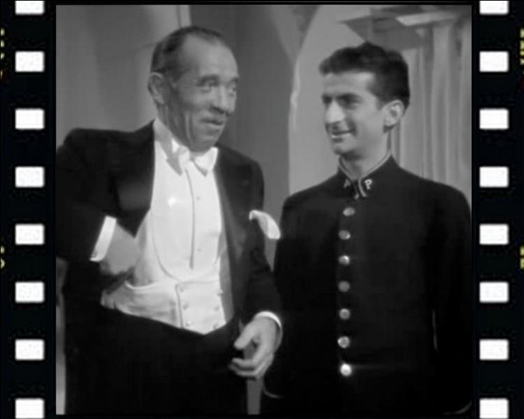 """Cinéma : Quelle profession interprétait Louis de Funès dans le film """"La tentation de Barbizon"""" , son tout premier rôle au cinéma en 1946?"""