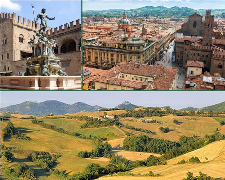 Géographie : L'Emilie-Romagne est une région de l'Italie située au nord-est de la péninsule. Quelle est sa capitale?