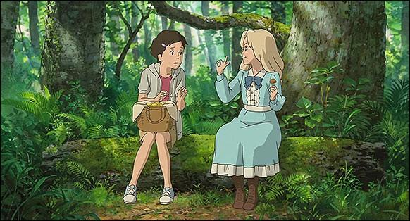 Quel est cet animé racontant l'histoire de deux jeunes filles qui vont devenir très proches malgré leurs vies opposées ?