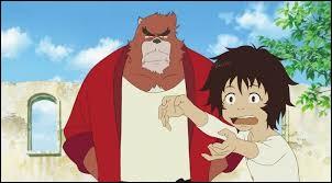Quel est cet animé racontant les aventures d'un jeune garçon entraîné par une créature d'un monde parallèle ?