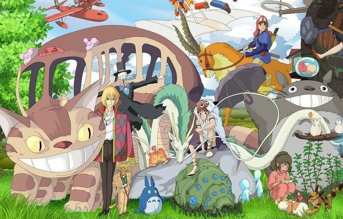 Les films animés japonais
