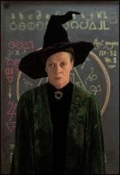 Quelle matière enseigne le professeur McGonagall ?