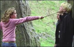 Qu'est-ce que Hermione va faire à Drago ?