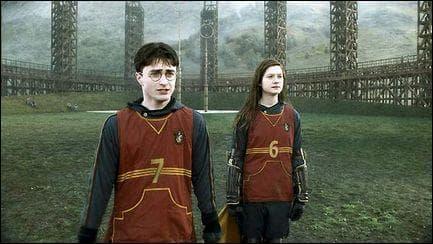 En temps normal, quel poste occupe Ginny au Quidditch ?