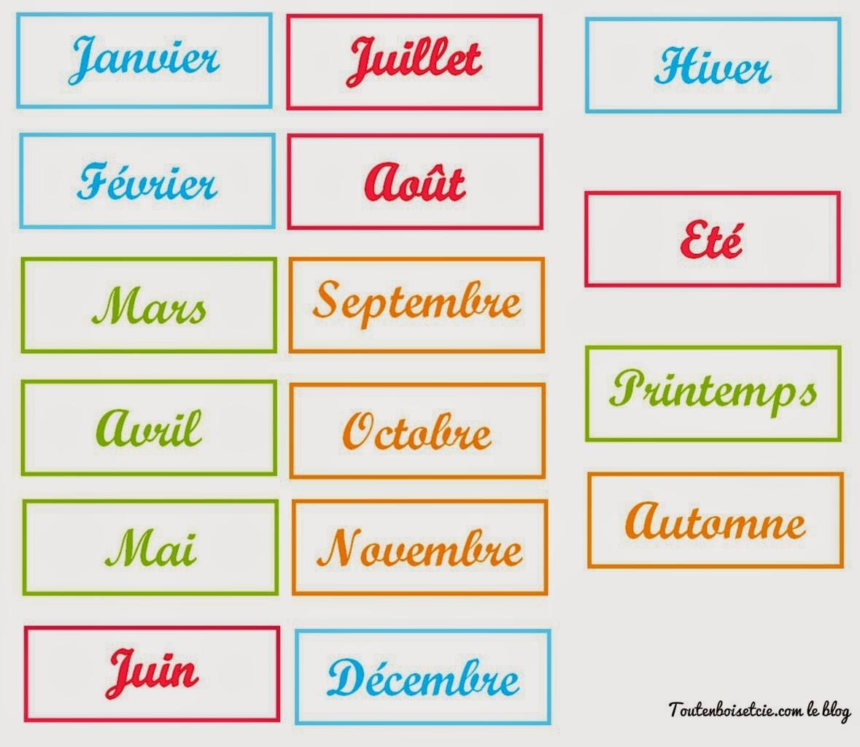 Quel mois es-tu né ?
