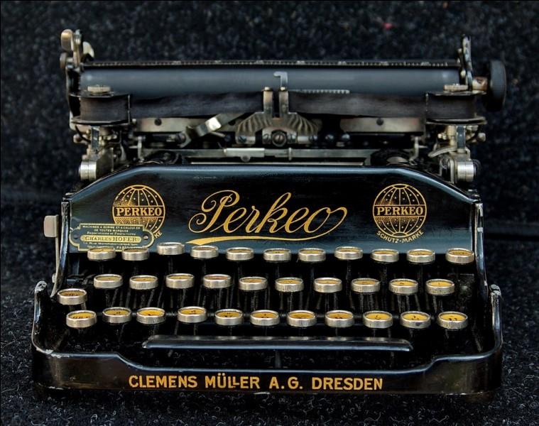 Qui a inventé la machine à écrire ?