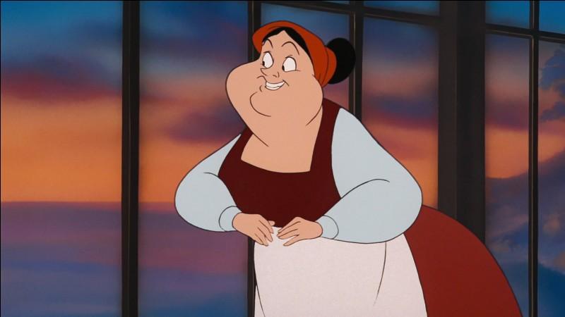 Comment s'appelle cette servante, travaillant pour le prince Eric puis pour la princesse Ariel ?