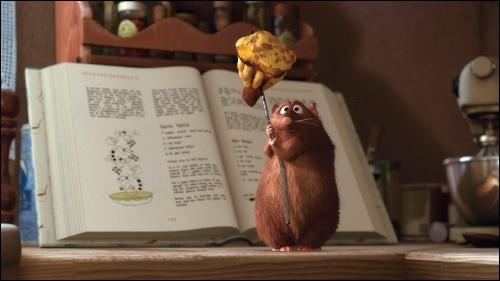 Comment s'appelle ce rat, frère du chef cuisinier Rémy ?