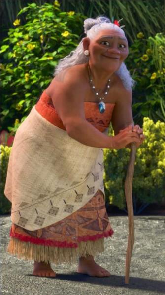 Qui est cette vieille femme, grand-mère de Vaiana ?