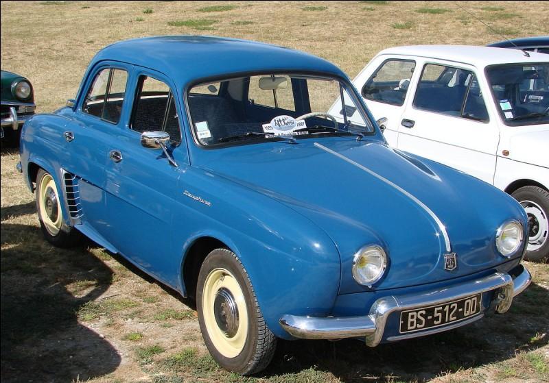 Combien de Renault Dauphine ont été vendues en 1969?