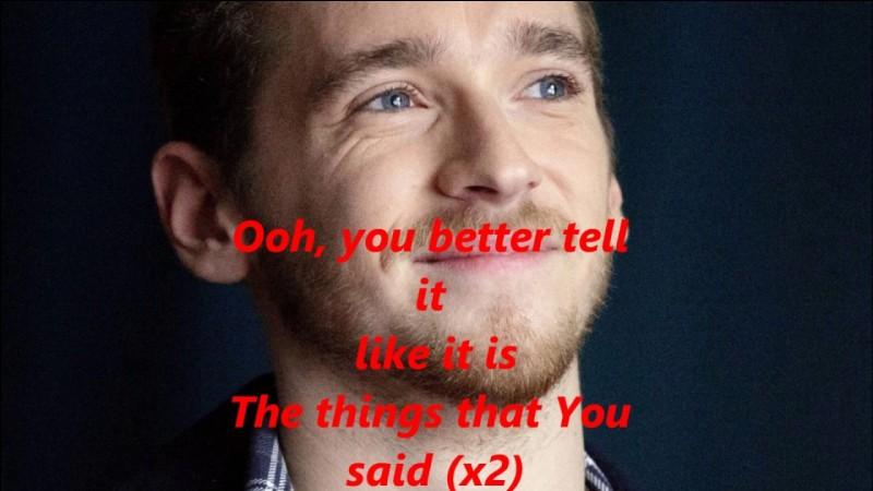 """Qui chante """"Like it is"""" ?"""