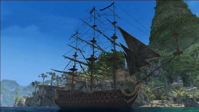 Comment s'appelle le bateau dirigé par Jack Sparrow ?